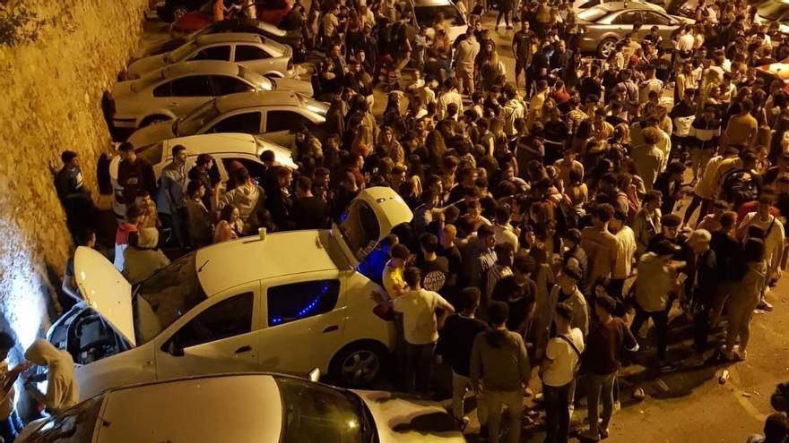 Acuchillan salvajemente a cuatro jóvenes en una misma noche en un macrobotellón en Cartagena