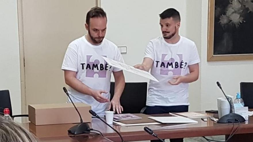 """Ceballos y Sanabria """"tambè"""" harán la falla infantil del ayuntamiento"""