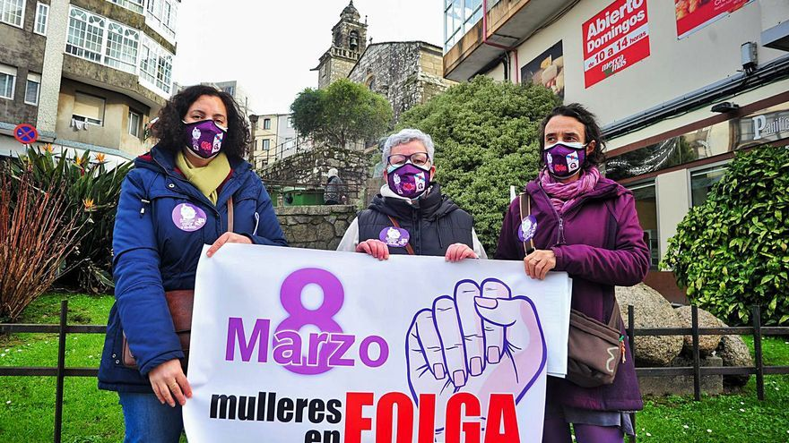 """Arousa prepara un 8-M con protestas en la calle y huelga: """"Nada de quedarse en casa"""""""