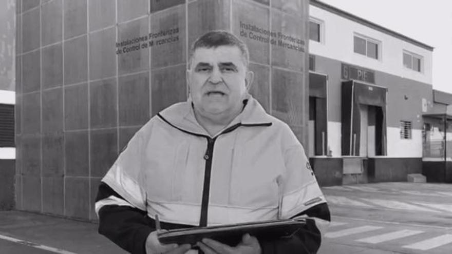 José Rivero, gestor del Punto de Inspección Fronterizo
