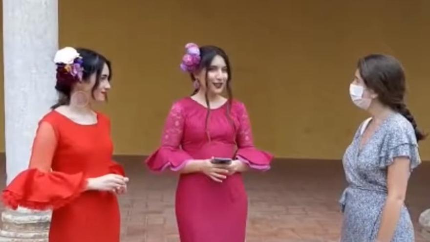 Un vídeo de dos alumnas de El Encinar es premiado en el concurso de Ciudades Patrimonio