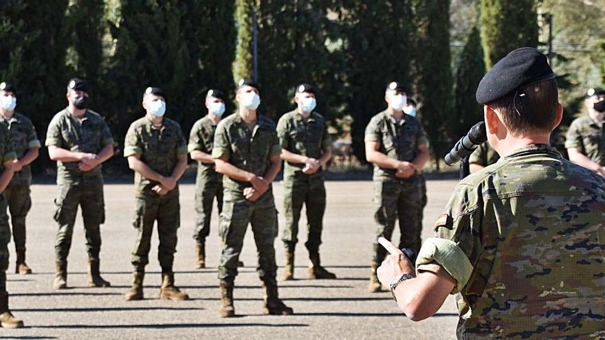 66 mandos se incorporan a la Brigada Guzmán el Bueno X