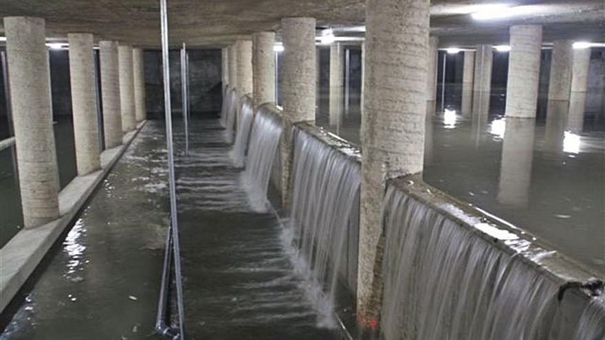 Nuevo impulso a la construcción de seis depósitos de tormentas en la ciudad