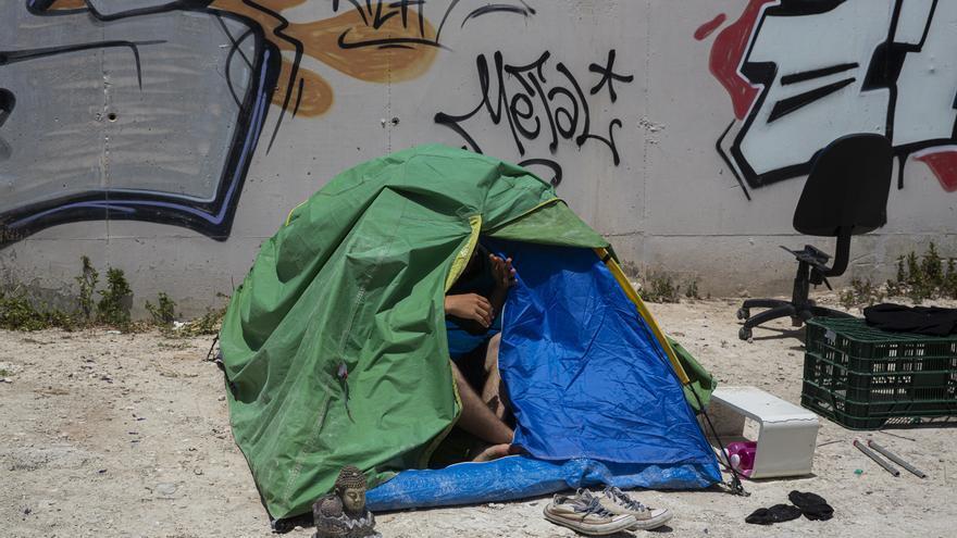 Unidas Podemos reclama un dispositivo para proteger a las personas sin hogar ante la llegada de una nueva ola de frío
