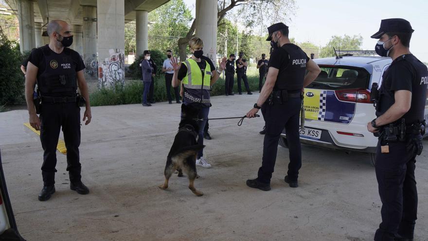Formación sobre controles policiales para la Policía Local de Burjassot