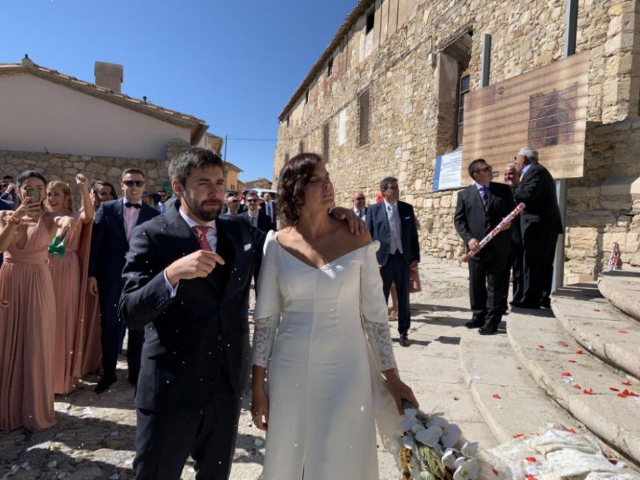 Boda de Sandra Gómez en Morella
