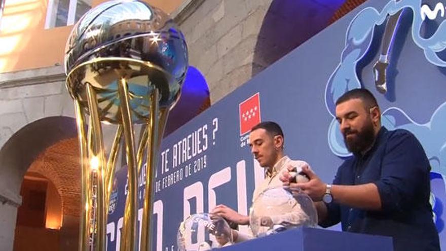 Barcelona-Valencia y Madrid-Estudiantes, en la Copa del Rey de baloncesto