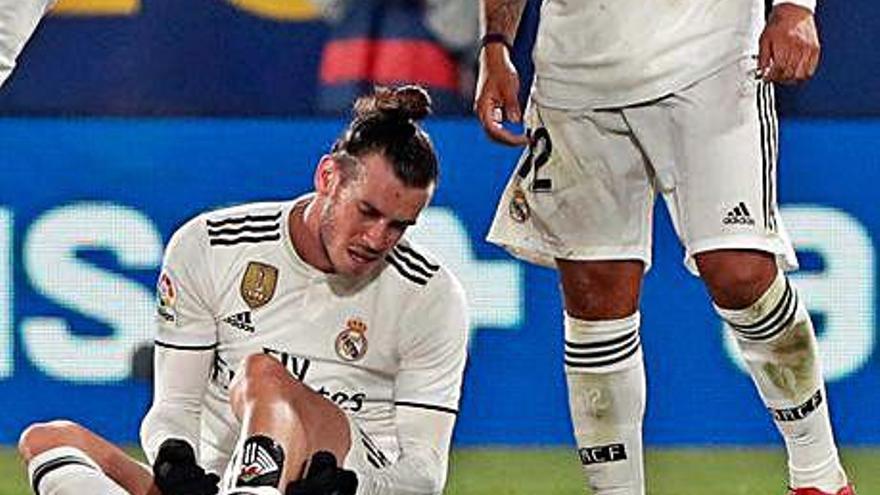 Un mal al bessó que s'ha convertit en el gran malson del madridista Bale