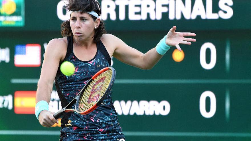 Carla Suárez se queda al borde de las semifinales