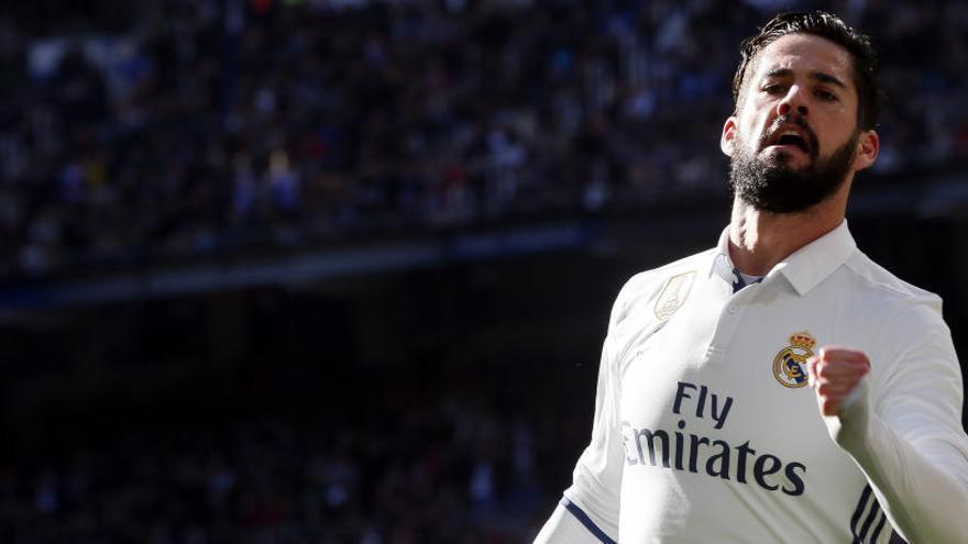 El Madrid atropella un pobre Granada