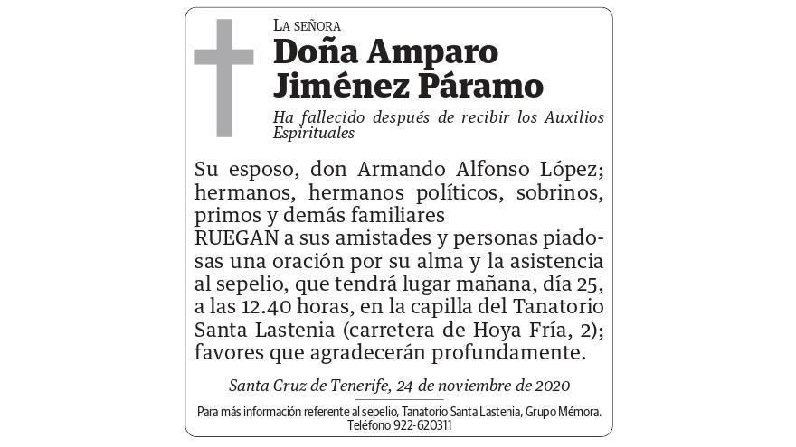 Amparo Jiménez Páramo