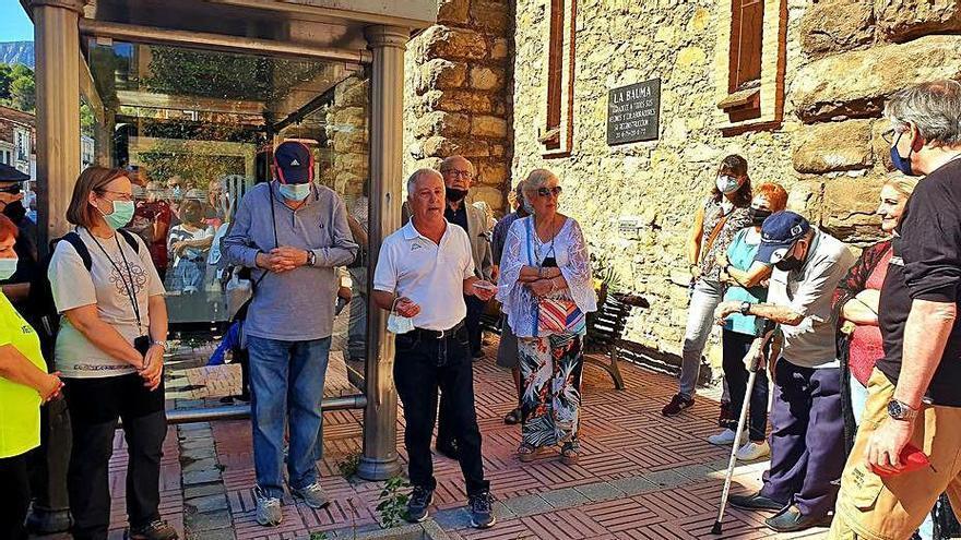 Castellbell commemora els 50 anys de la riuada de la Bauma amb un acte emotiu