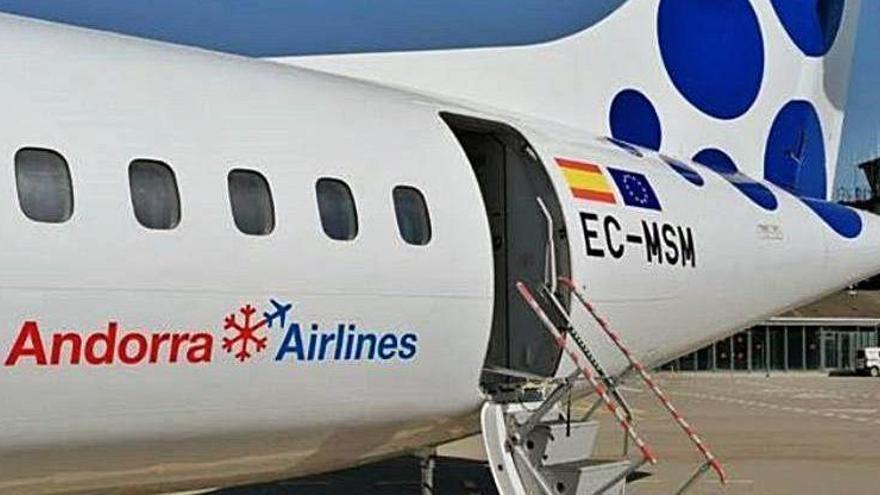 Andorra Airlines anuncia vols regulars des de la Seu