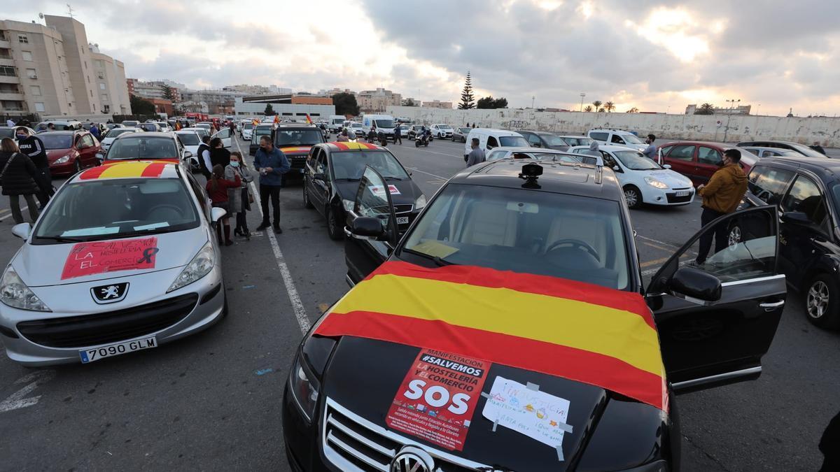 Movilización de hosteleros esta tarde en Santa Pola
