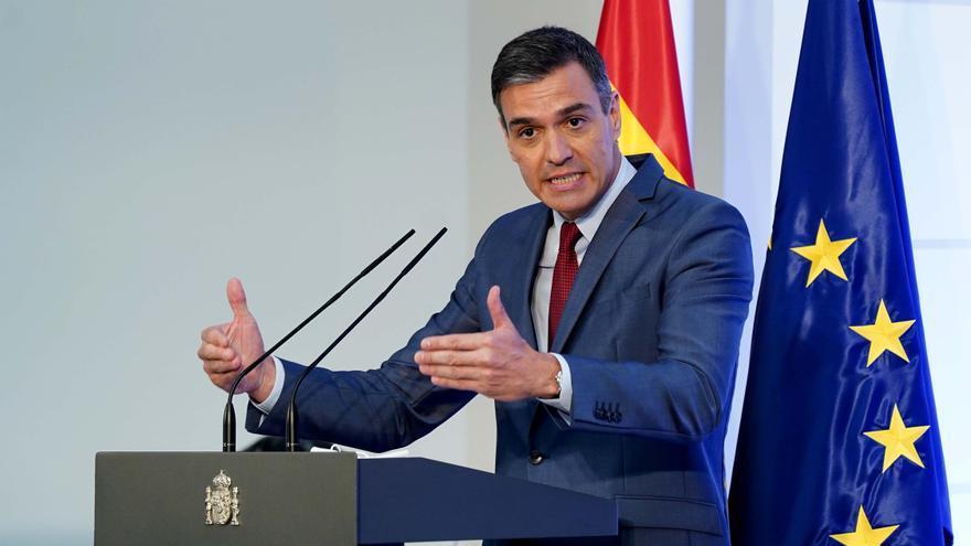 """Sánchez: """"El objetivo del nuevo Gobierno es iniciar una etapa de renovación económica, social y territorial"""""""