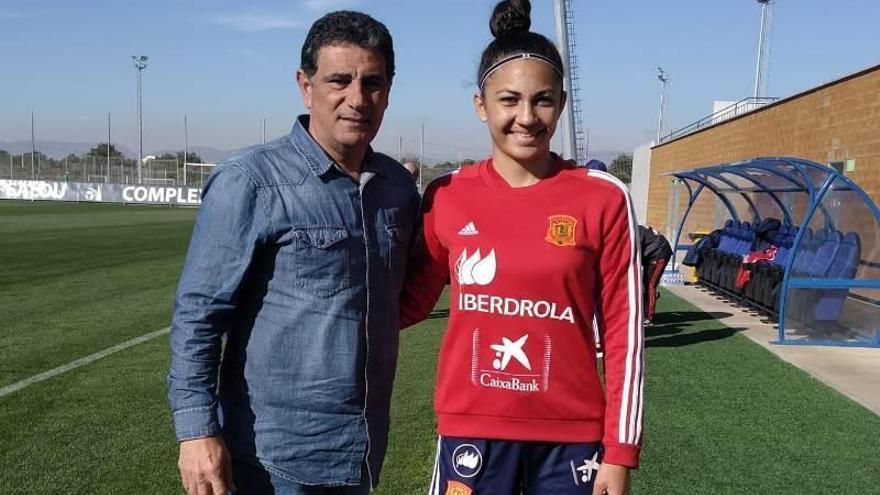 Lucía Moral 'Wifi' ya está lista para debutar con la selección nacional sub 17