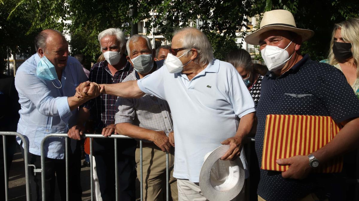 Finito y Morante, mano a mano en Los Califas
