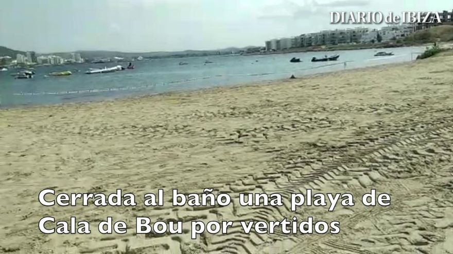 La reapertura al baño de la Playa d'en Xinxó, a la espera de los análisis