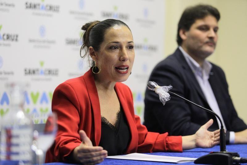 Convocatoria de ayudas a autónomos y pequeñas empresas ayuntamiento de Santa Cruz , Patricia Hernández,  alcaldesa   | 08/04/2020 | Fotógrafo: Delia Padrón