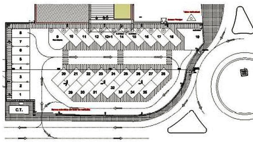 Interior adjudica las obras del parking para la comisaría de Vélez