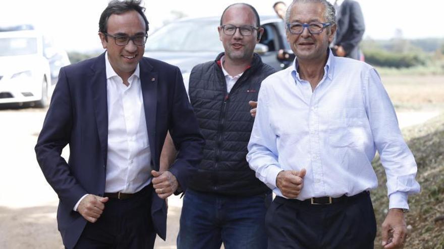 Conde reuneix a Fonteta els líders del PP i Junts, dos ministres i tres consellers