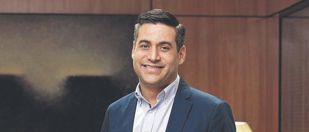 Yonay Concepción, director técnico de la central hidroeléctrica de Chira Soria del Consejo Insular de Aguas de Gran Canaria.