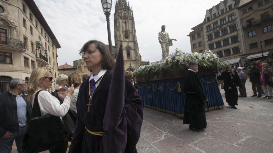 Así será la Semana Santa en la Catedral de Oviedo: sin procesiones ni ramos