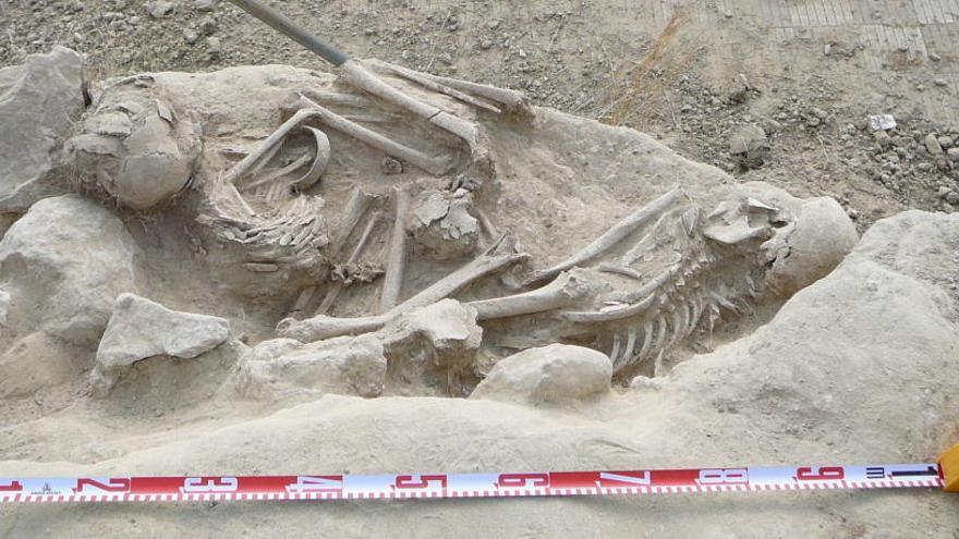 Descobreixen a Masquefa dues estructures funeràries que podrien ser de l'Edat de Bronze