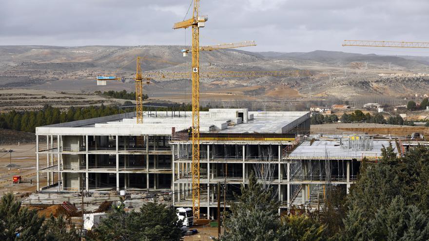 Comienzan los trabajos de la obra civil del nuevo hospital de Teruel