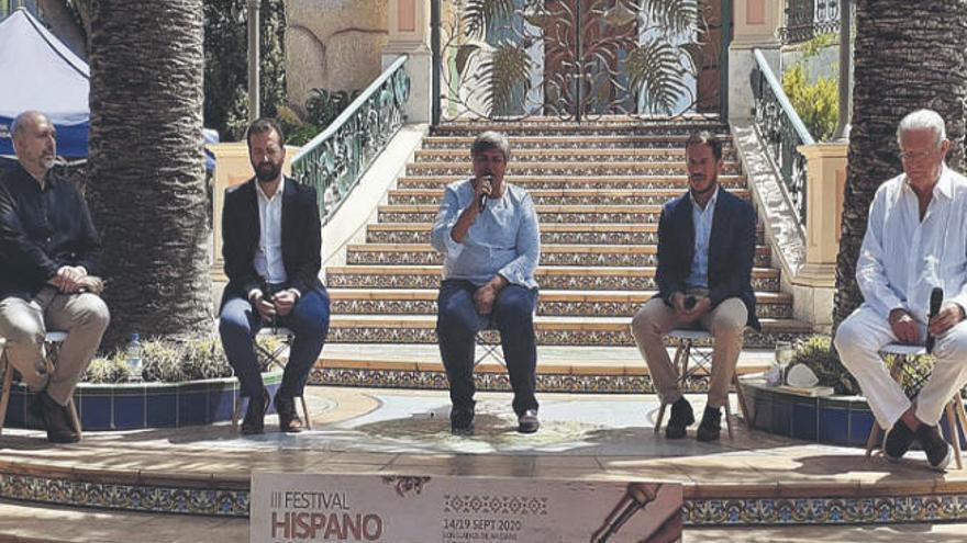 El Festival Hispanoamericano se sobrepone y convoca a 50 autores