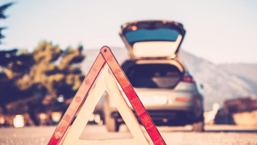 """Tráfico """"jubila"""" el triángulo de emergencia por su peligrosidad"""