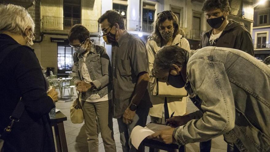 La Marxa de Torxes a Manresa reclama una majoria independentista cohesionada
