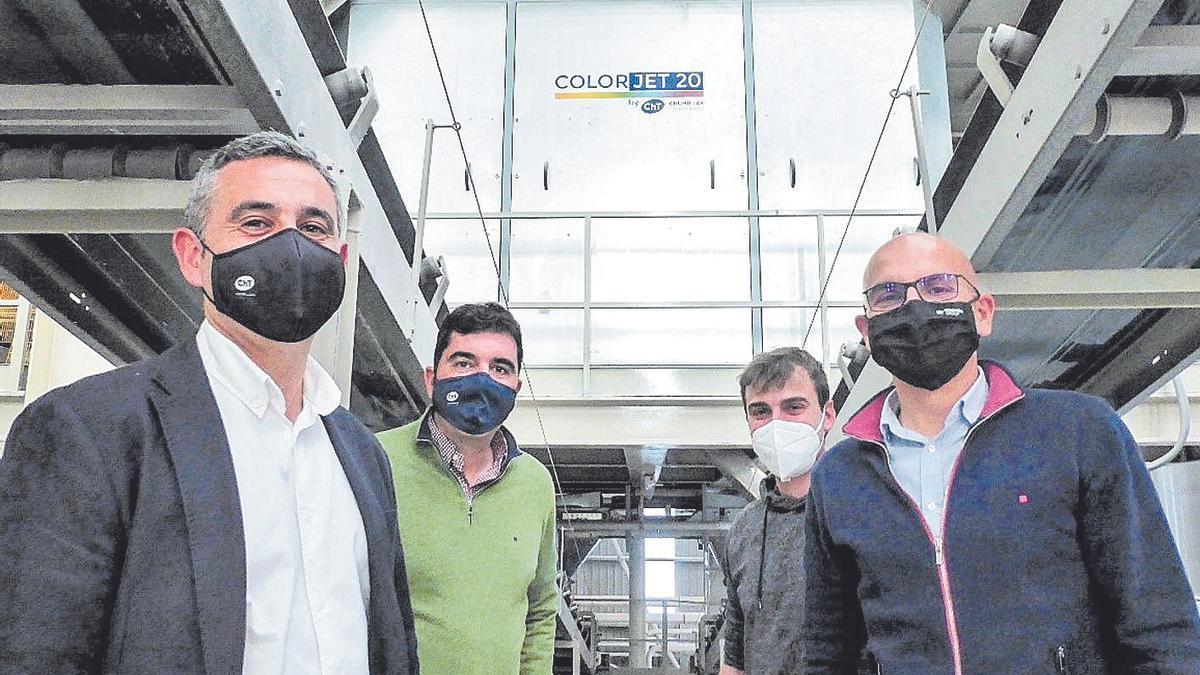 Peronda y Argenta incorporan lo último de coloración en seco