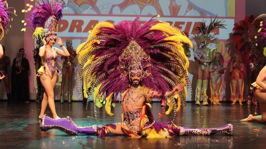 Perseida de Cartagena, ganadora del Concurso Drag Queen del Carnaval de Águilas