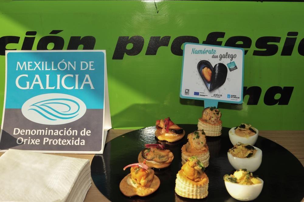 Promoción del mejillón con DOP en Vilagarcía.