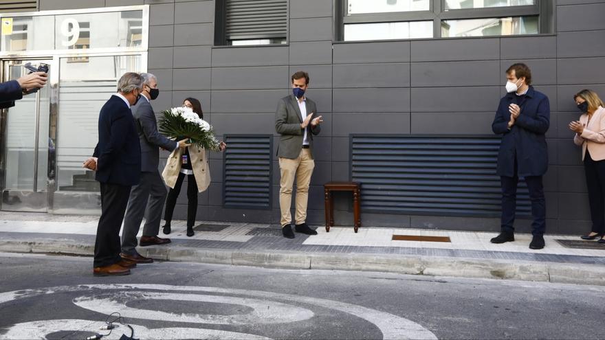 Zaragoza recuerda a Giménez Abad en el 20 aniversario de su asesinato
