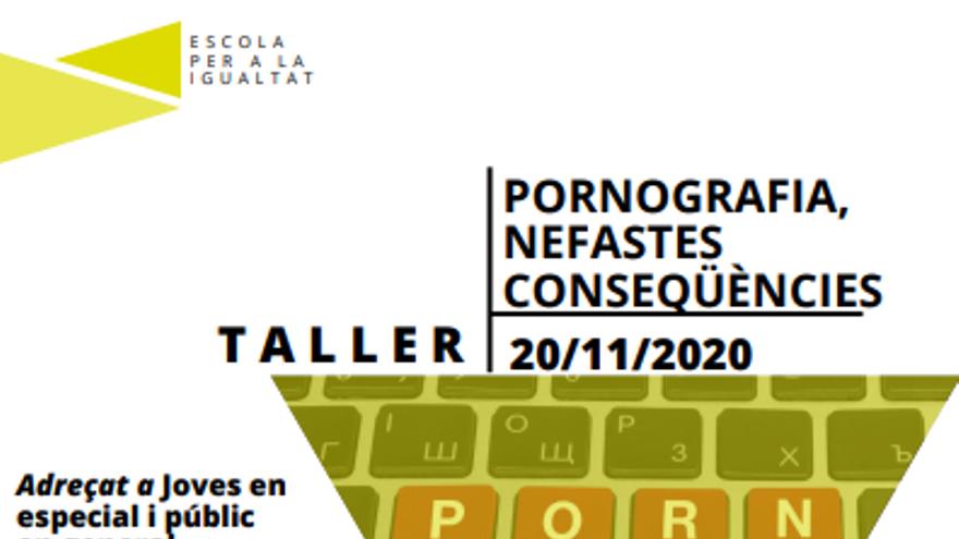 Taller: Pornografia, nefastes conseqüències