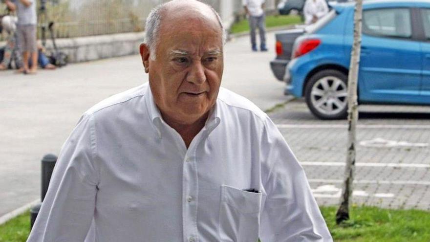 Amancio Ortega, más rico, cae al undécimo puesto de los millonarios de Forbes