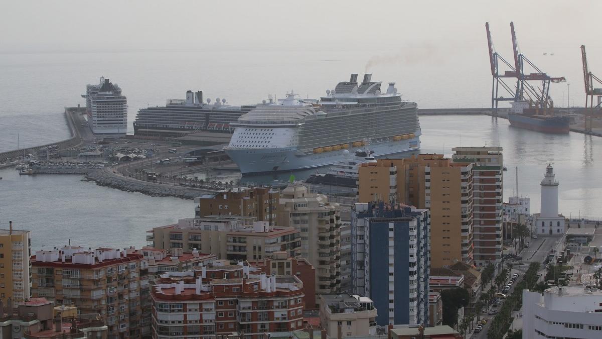 Cruceros en la capital en 2016.