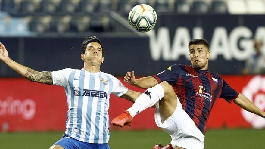 Un Málaga CF desfondado