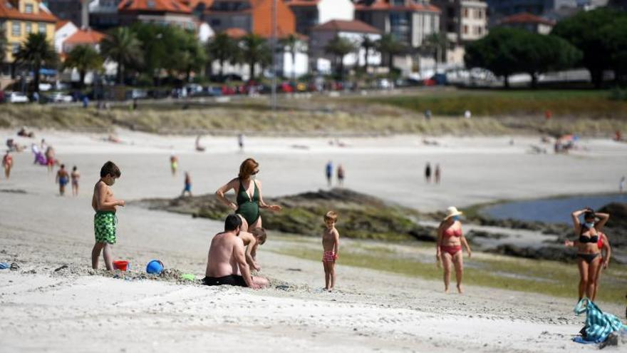 Las playas de Sanxenxo estrenarán nueva imagen con equipamientos de ocio