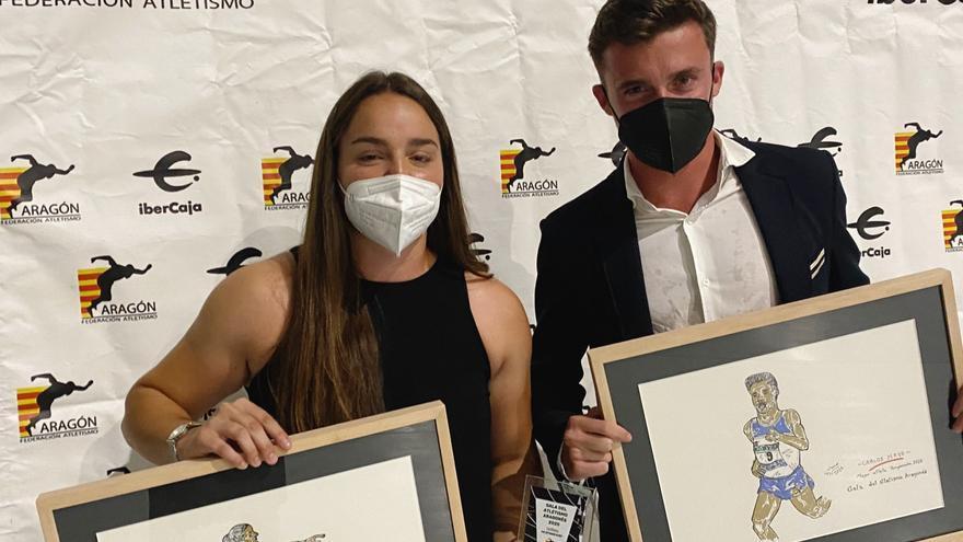 Carlos Mayo y Natalia Sainz, los mejores de 2020