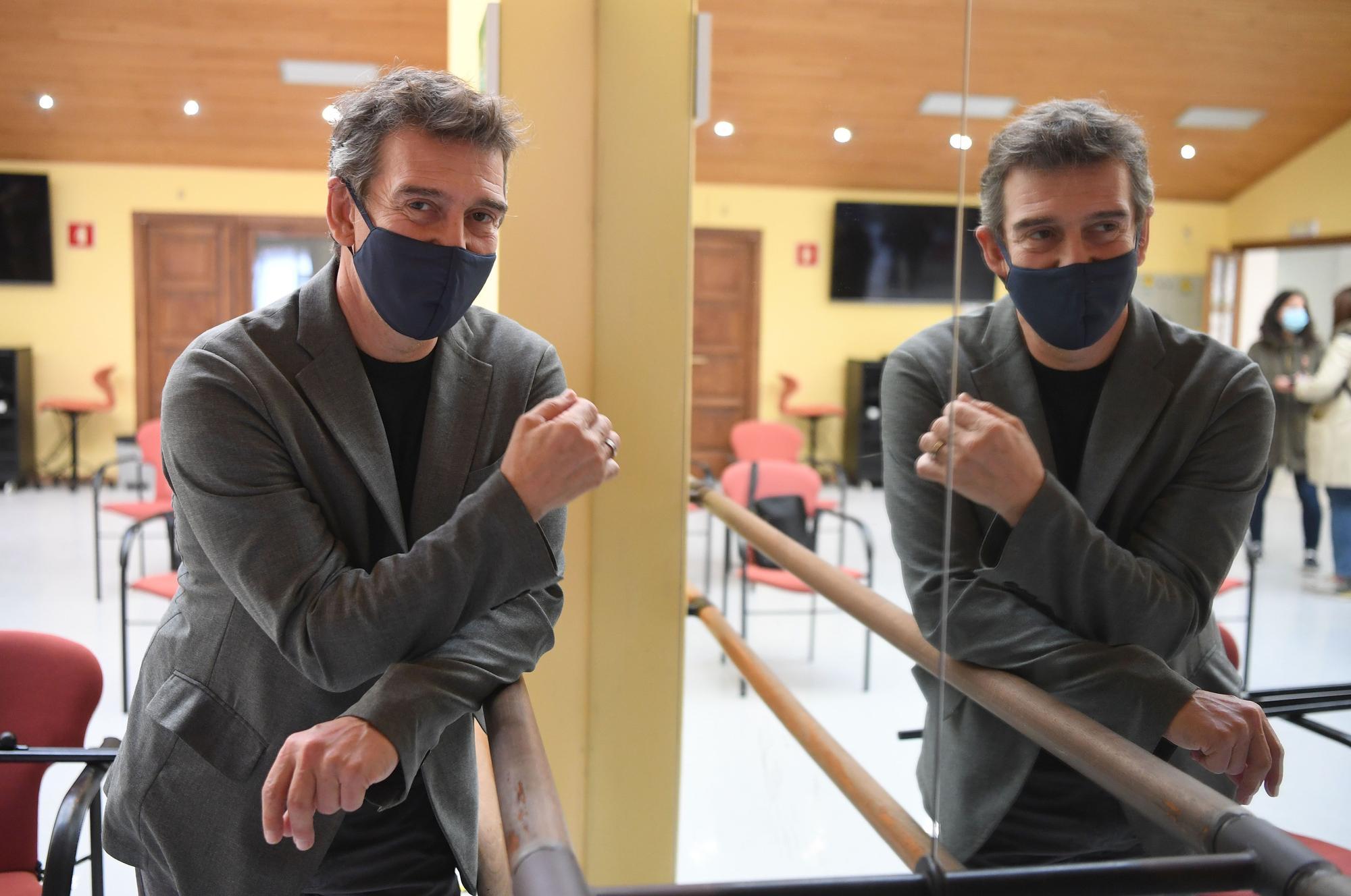 Julio Bocca, en A Coruña por el 30º aniversario del Conservatorio de Danza