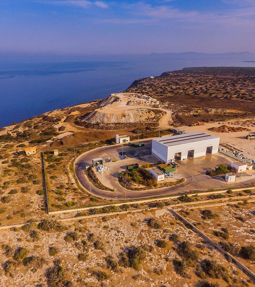 Asesoramiento medioambiental a la Estación de Transferencia de Formentera.