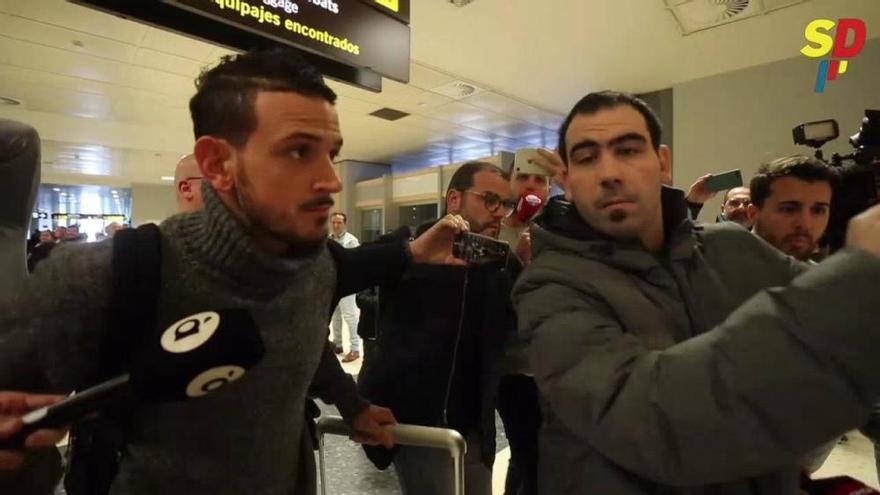 Florenzi  aterriza en Valencia