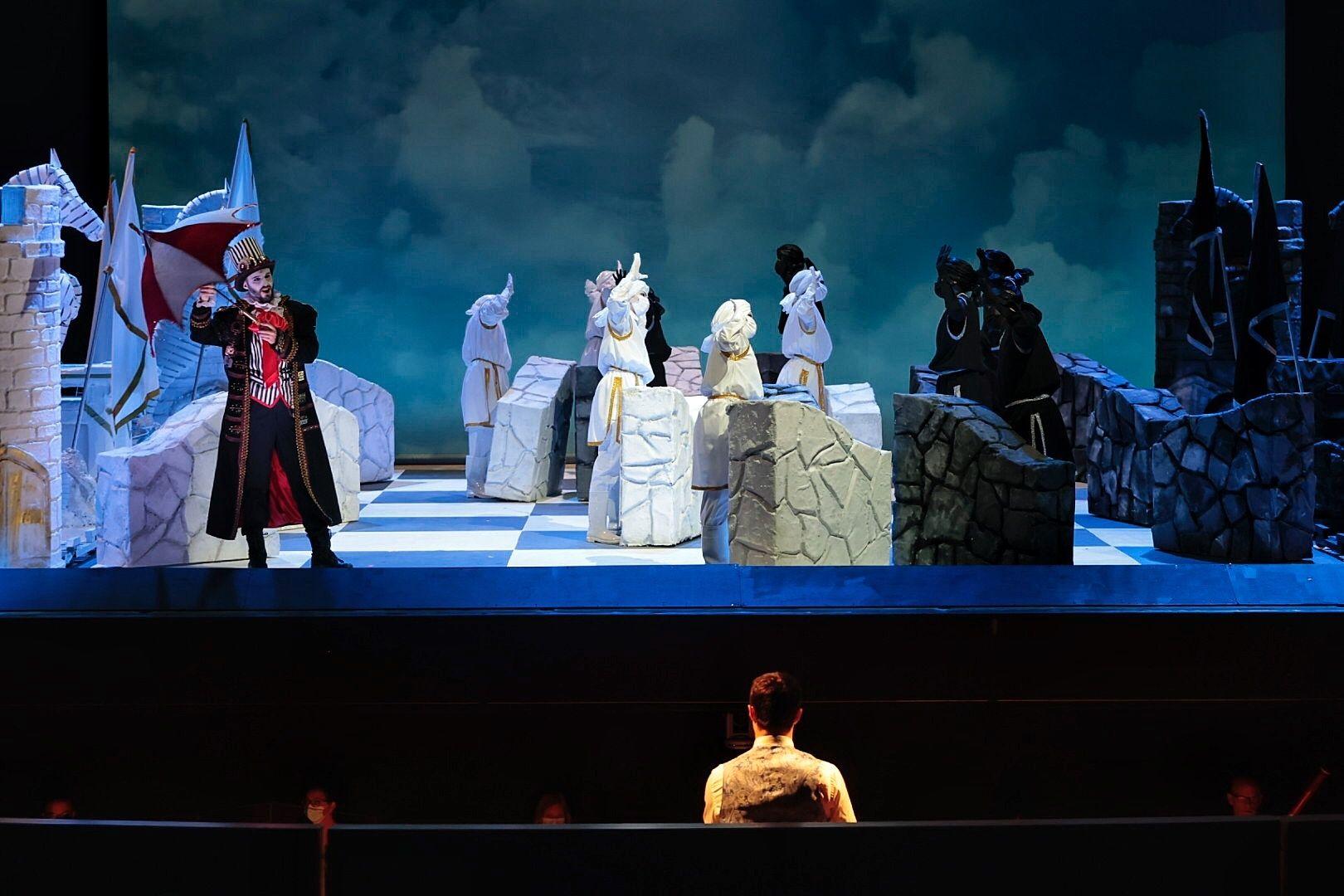Función para escolares de la ópera Rinaldo
