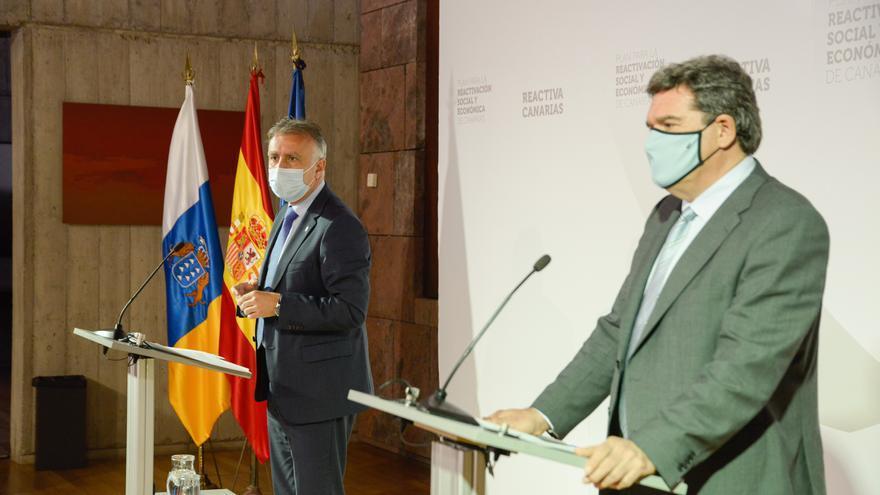 Escrivá garantiza la prórroga de los ERTE en Canarias más allá del 31 de enero