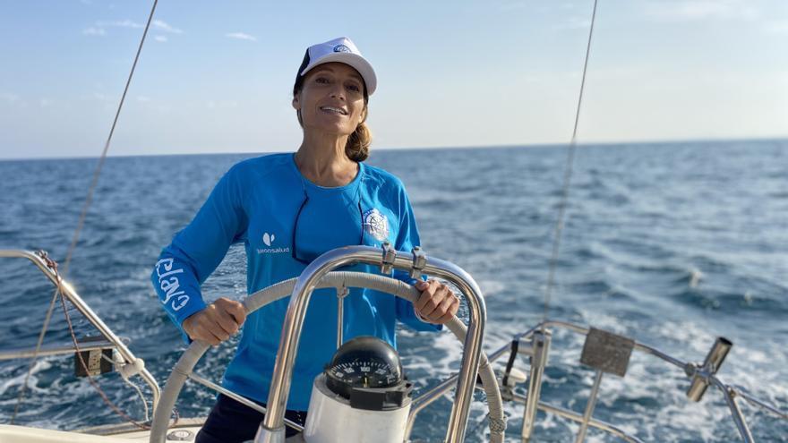 Un barco contra el cáncer y una historia de superación