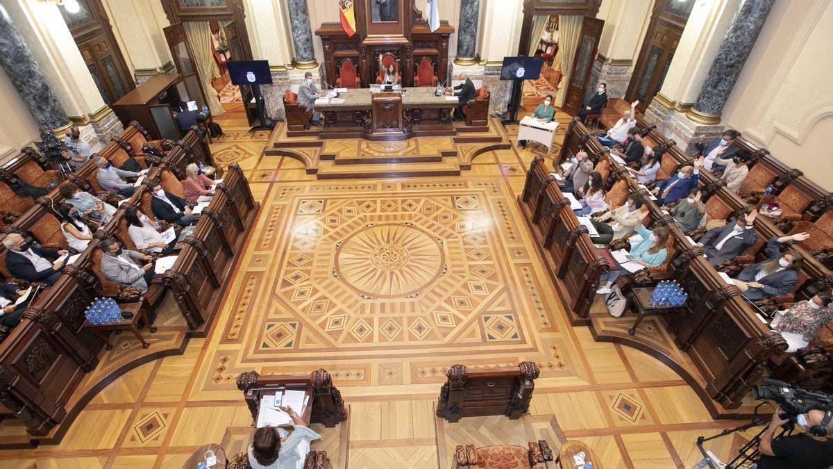 Pleno de A Coruña.
