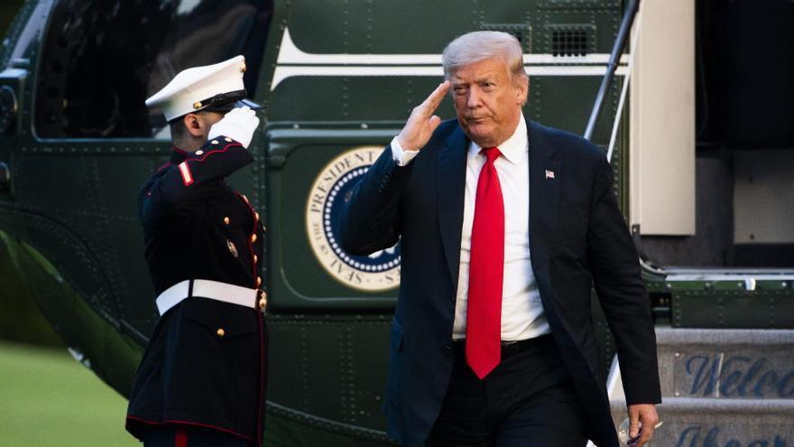 Donald Trump pide al Supremo que tumbe el 'Obamacare'